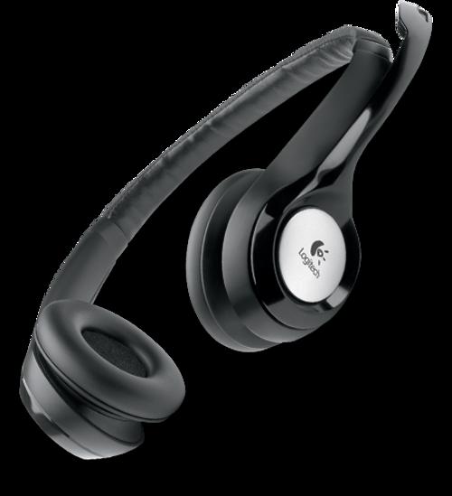 Logitech H390 USB Stereo Headset, 981-000014