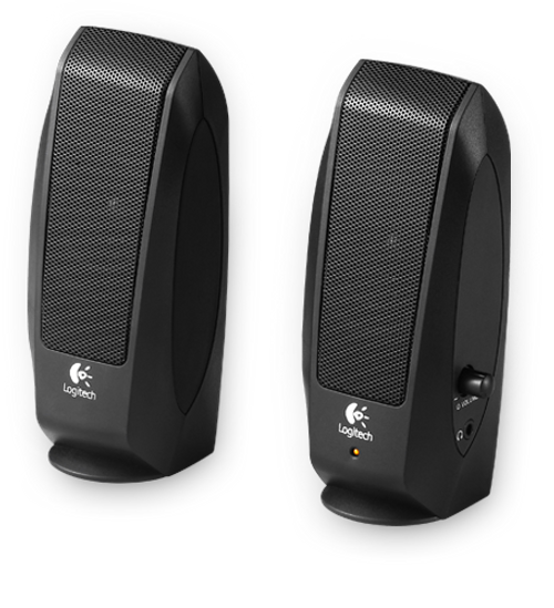 Logitech S120 PC Speakers, 980-000012