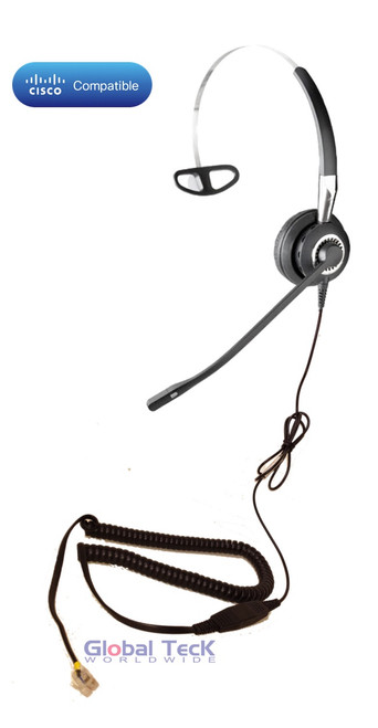 Cisco compatible Jabra BIZ 2410 Direct Connect headset