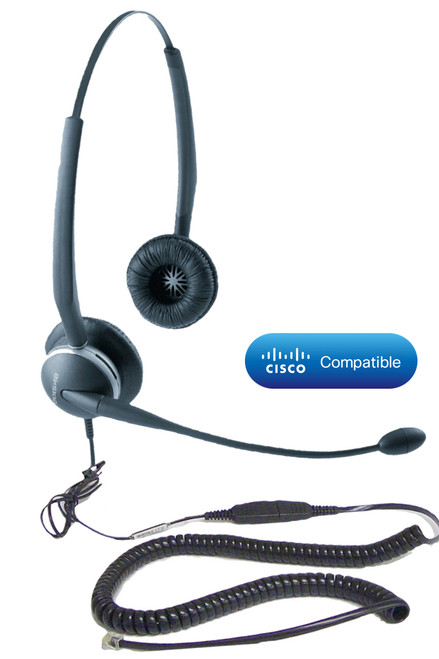Cisco compatible Direct Connect headset | Use with Cisco phones