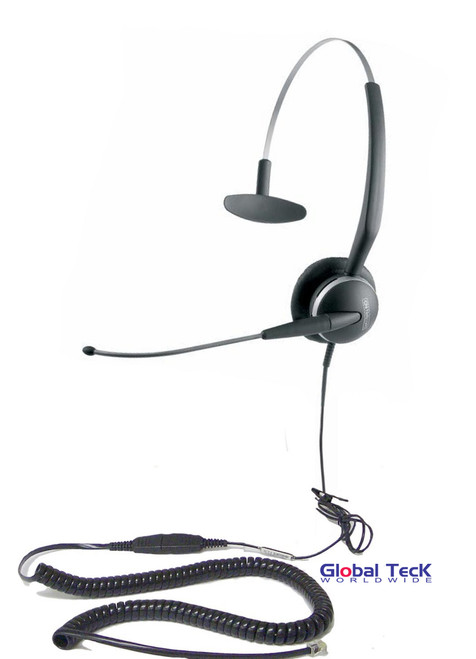 Jabra GN2110 Direct Connect Headset | Mitel Interface cable included - Plugs into Headset port