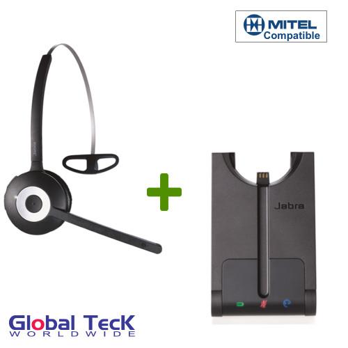 Mitel compatible Jabra PRO 920 Wireless Headset, 920-65-508-105