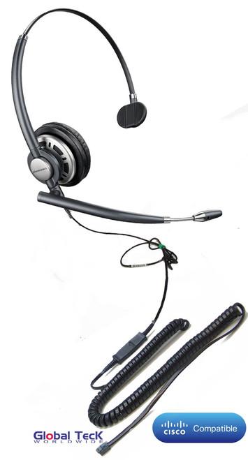 Plantronics Encore PRO Direct Connect Mono Wideband Headset, HW291N (HW710), #78712-01