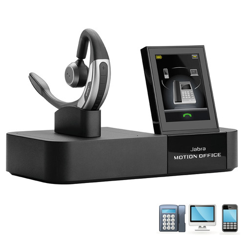 Jabra MOTION Office | Bluetooth Wireless Multi-Use headset | 6670-904-105
