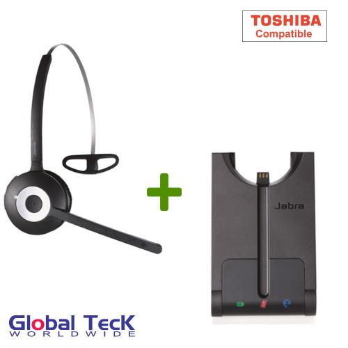 Toshiba Compatible Jabra PRO 920 Wireless Headset System, 920-65-508-105