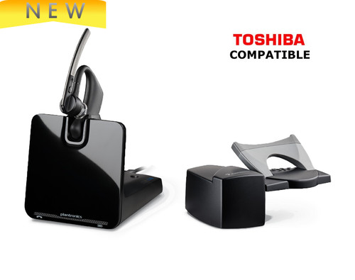 Toshiba Compatible Wireless Headset | Plantronics Voyager Legend CS (Bundle) | For the office | 88863-11