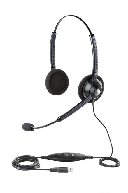 Jabra 1900 USB PC Wideband Headset (DUO), 1989-829-107