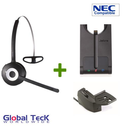 NEC Compatible Jabra PRO 920 Bundle Wireless Headset System