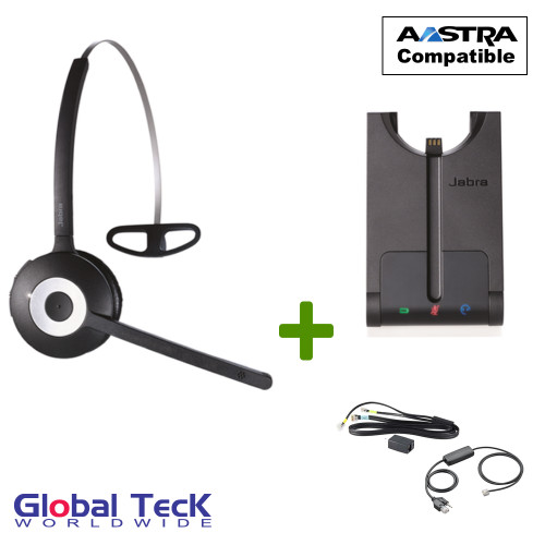 Aastra Compatible Jabra PRO 920 Wireless Headset Bundle