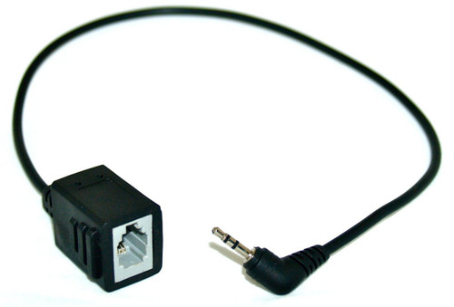 Converter Adapter   Converts RJ-9 to 2.5mm for phones that have a 2.5mm jack., (2200-11095-002)