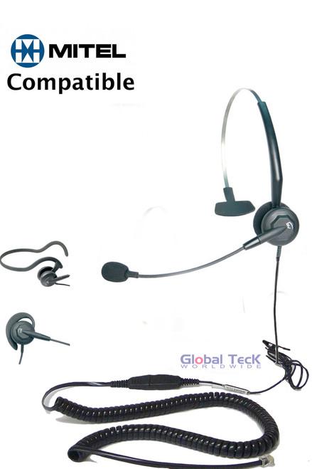 3 in 1 headset for Mitel Phones