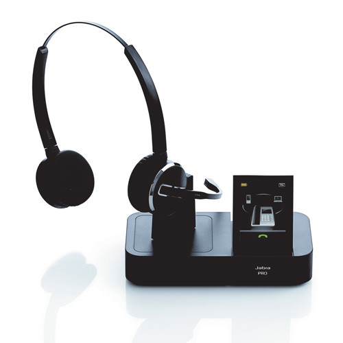 Jabra 9460 Duo Wireless Headset System   Headset and Base