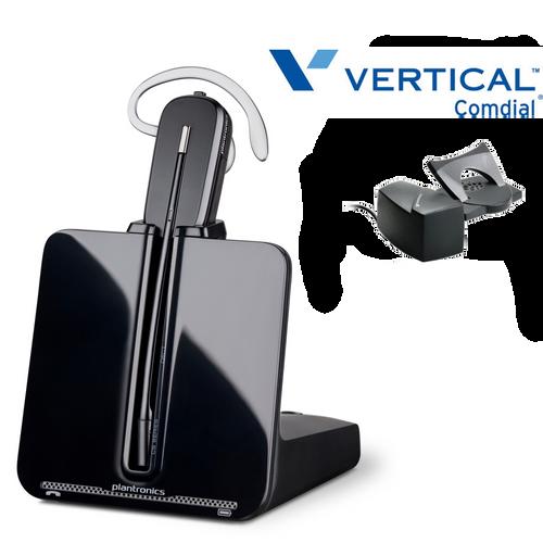 Comdial Vertical Compatible Plantronics Wireless Headset CS540 Bundle | Remote Answerer Included| For MBX, SBX IP Phones: 320, DX-80, 7260 | Edge 120, 700, 4000, 8000, | Vodavi Starplus STS