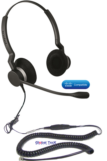 Jabra BIZ 2325 Direct Connect headset For Cisco Phones