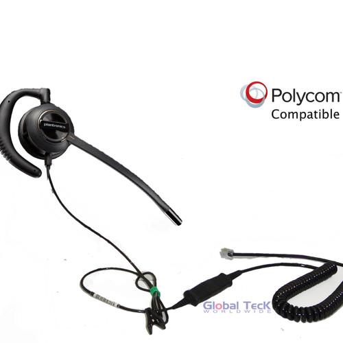 Polycom compatible headset | Plantronics EncorePro