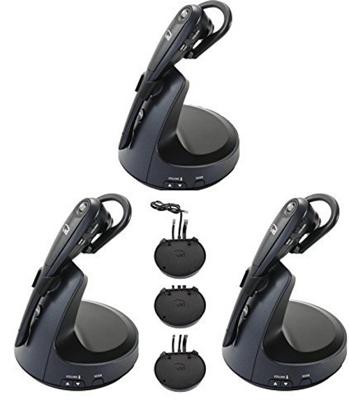 3-pack Special - Wireless Headset Bundle with EHS