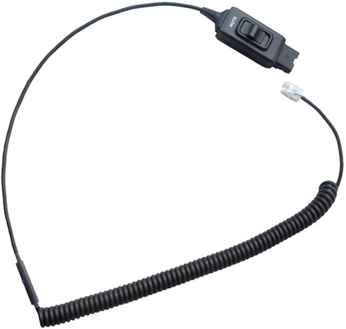 New HIS-1 cable with Mute Button #GTW HIS-1 - 72442-41 M