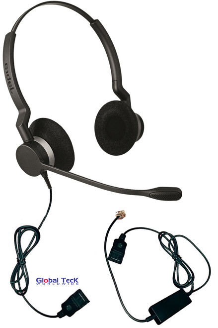 NEC Compatible Jabra BIZ 2300 Duo Direct Connect with intelicord