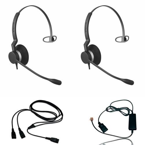 Jabra BIZ 2300 Headset Training Bundle