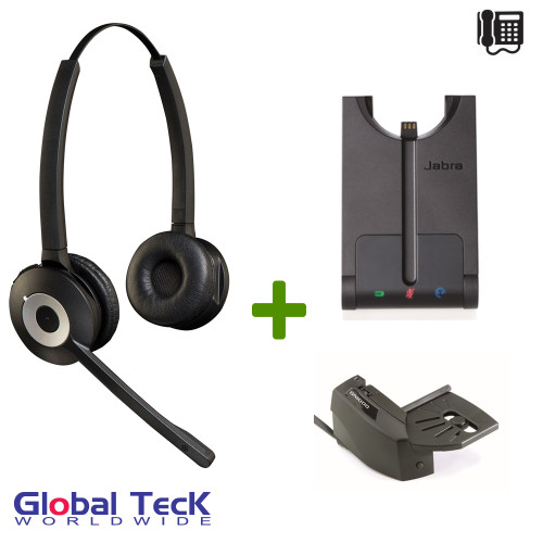 Jabra PRO Duo 920 Bundle Wireless Headset System
