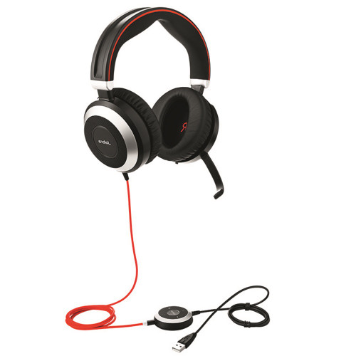 Jabra Evolve 80 MS Stereo USB Headset