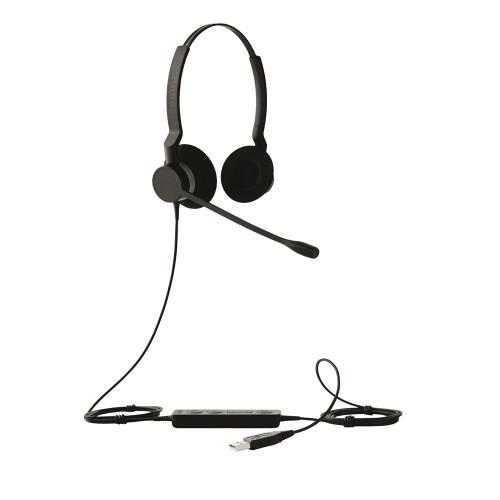 Jabra BIZ 2325 Stereo USB Corded Headset