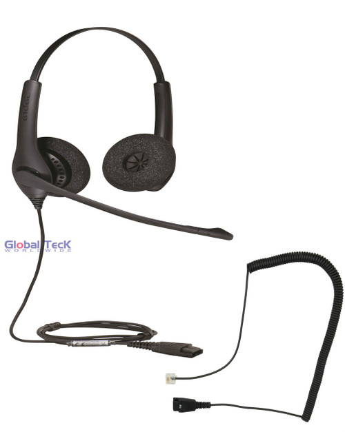Cisco Phone Compatible 1525 Direct Connect Headset with Cisco Cord