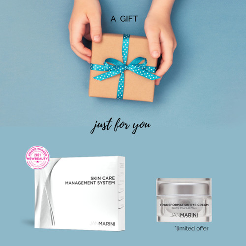 Skin Care Management System + Complimentary Transformation Eye Cream