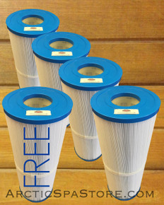 Buy 4, Get 1 FREE -Pleated Open Filter- Arctic Spas