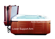 "Lower 36"" Coupler Bar for Covermate Easy 