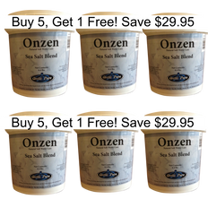Buy 5 get 1 FREE Arctic Pure Onzen Salt 4.4 LBS | Arctic Spas