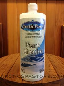 Arctic Pure Foam Dissolve 1 qt | Arctic Spas