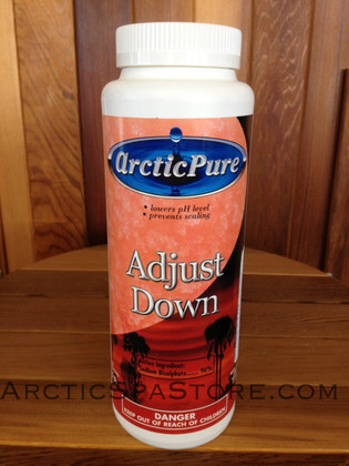 Arctic Pure Adjust Down 2 lbs | Arctic Spas