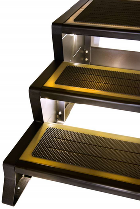 Solar Light for mod steps