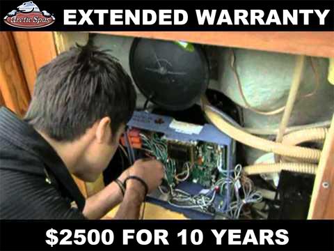 Arctic Spas Extended Warranty