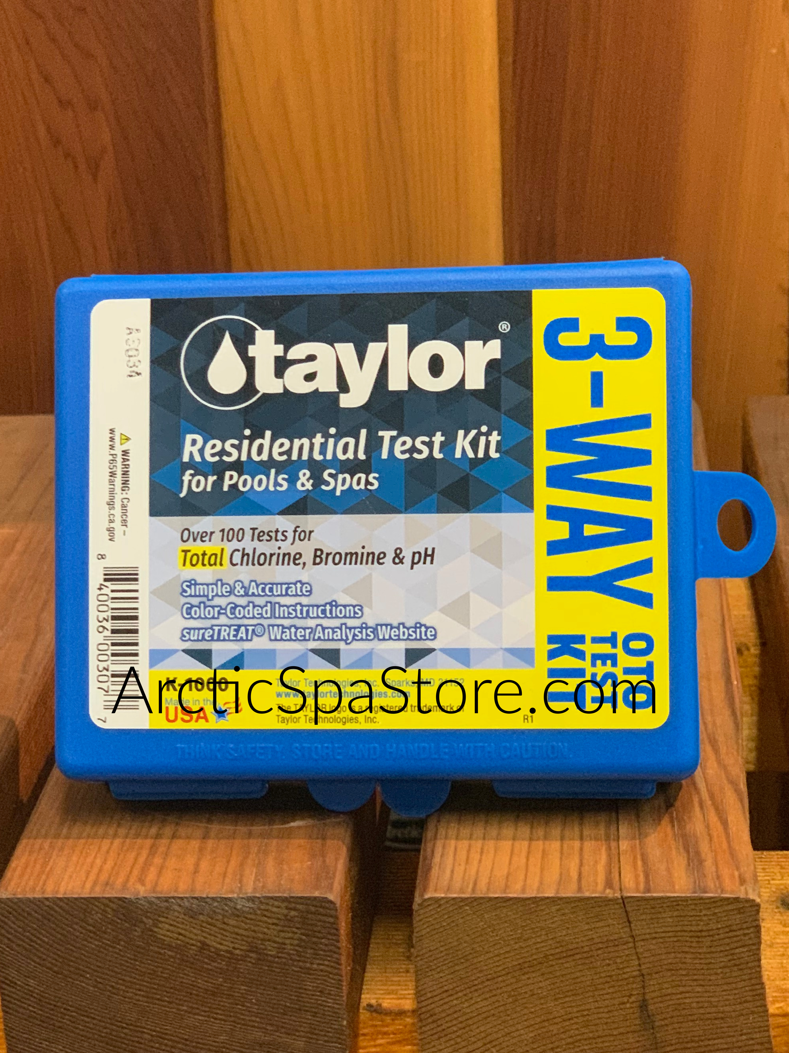 New product - Check out our new liquid test kit the Taylor 3 Way OTO Liquid Test Kit for Chlorine/Bromine and pH