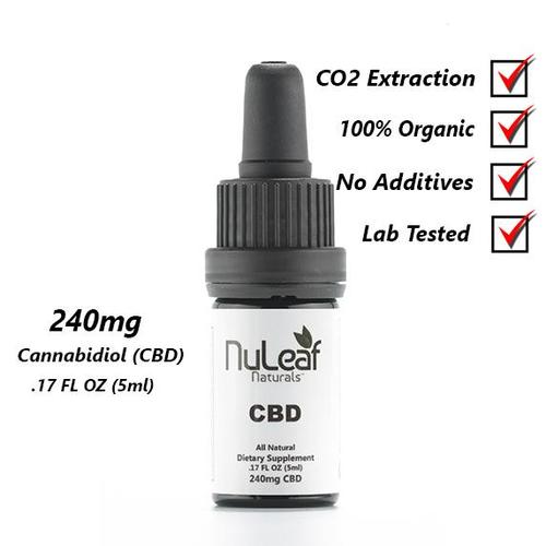 NuLeaf Full Spectrum CBD Oil 240mg