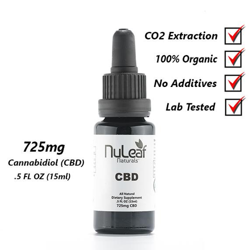 NuLeaf Full Spectrum CBD Oil 725mg .33oz
