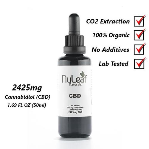 NuLeaf Full Spectrum CBD Oil 2425mg