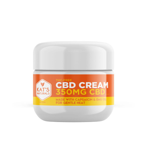 Kat's Naturals CBD Cream w/ Capsaicin 350mg-4oz