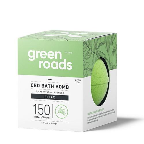 Green Roads Relax CBD Bath Bomb 150mg