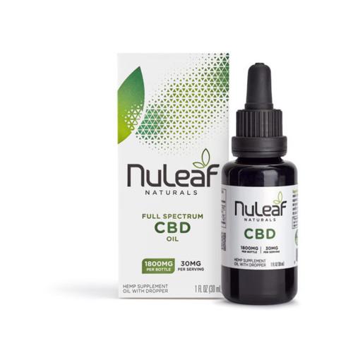 NuLeaf Full Spectrum CBD Oil 1800mg