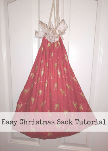 Christmas Sack / Laundry Bag Tutorial
