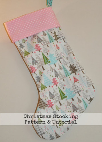 Christmas Stocking Tutorial and Pattern