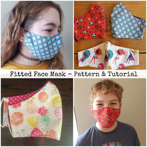 Fitted Face Mask  - Tutorial & Video