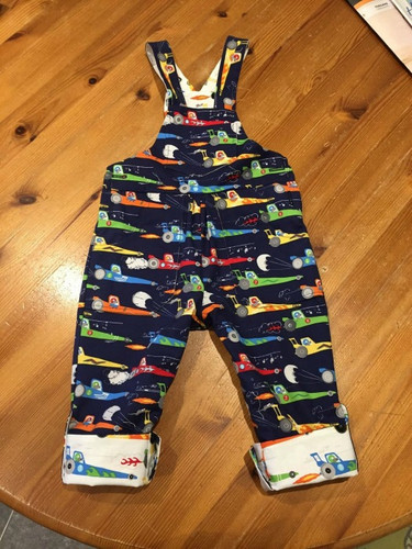 Making the 'Frankie' Dungarees