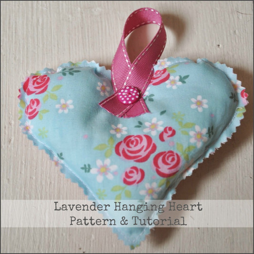 Mothers Day Gift Tutorial - Lavender Hanging Heart