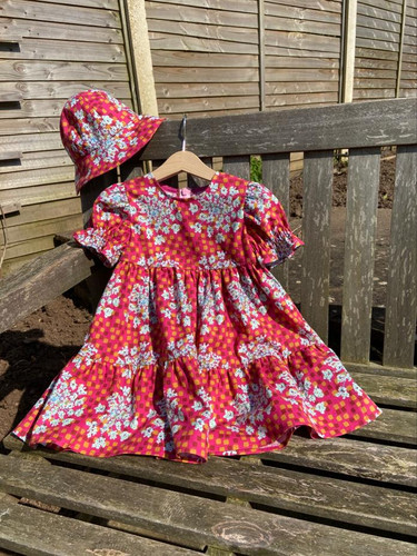 Making the Liberty 'Mabel' Tiered Dress