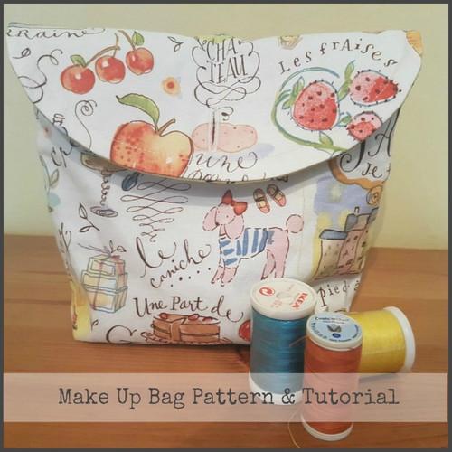 Make Up Bag Tutorial
