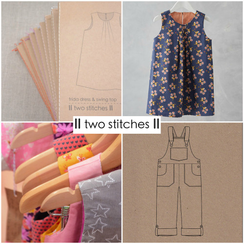 Introducing 'Two Stitches' Sewing Patterns